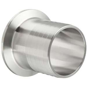 Parker Sanitary Tube Fitting, Stainless Steel 304, Rubber Hose Adapter