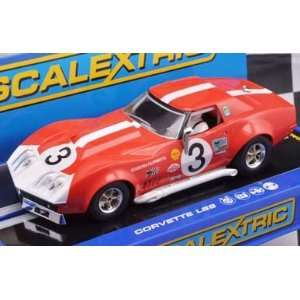 1/32 Scalextric Analog Slot Cars   Chevrolet Corvette 68