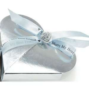 Today I Marry My Best Friend Personalized Ribbon