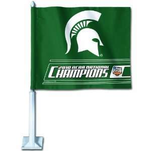 NCAA Michigan State Final Four Champs Car Flag Sports