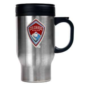 Sports MLS COLORADO RAPIDS 16oz Stainless Steel Travel Mug