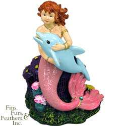 Blue Ribbon Pet Products Resin Ornament   Mermaid Dolp