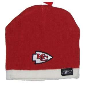 Kansas City Chiefs NFL Reebok Youth Red & White Trim Knit