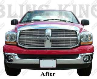 2005 2008 Dodge Ram chrome Grille Grill insert NEW