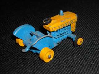 Vintage Lesney Matchbox No.39 Die Cast Ford Tractor