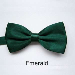 Children Kids Boys Toddler Solid Color Wedding Child Neck Bow Ties