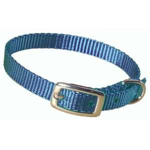 Hamilton 3/8 Single Thick Nylon Deluxe Dog Collar, 14