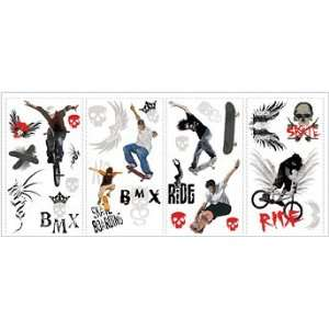 Extreme Sports Peel & Stick Wall Decals Toys & Games