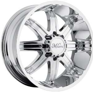 20x9 Milanni Kool Whip 8 8x170 +18mm Chrome Wheels Rims