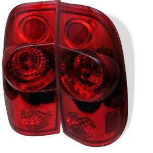 97 01 Ford F150 LED Altezza Tail Lights   Red Automotive