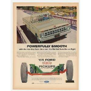 1965 Ford Pickup Truck Powerfully Smooth Suspension Print
