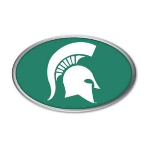 Michigan State University Spartan Head Logo NCAA College Sports Team