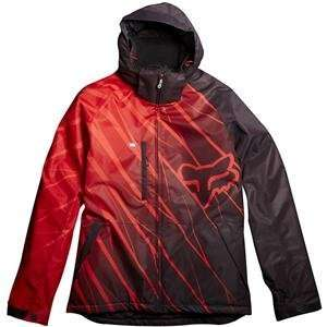 Fox Racing FX3 Jacket   Large/Red Automotive