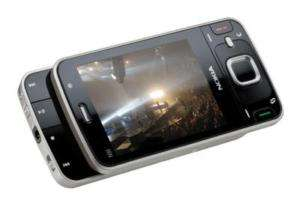 Unlocked Nokia N96 Cell Phone 3G GPS 5MP WiFi Black 758478024935