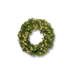 National Tree NF 304L 36W 36 Norwood Fir Wreath with 100