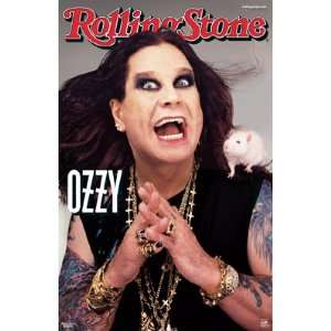 OZZY OSBORNE ROLLING STONE COVER 24X36 POSTER #3764