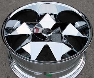 GREED VIRTUE 22 CHROME RIMS WHEELS IMPALA CAPRICE CHEVROLET