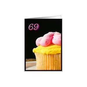 Happy 69th Birthday Muffin Card Toys & Games