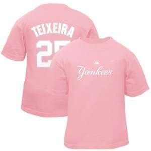 New York Yankees Shirts  Majestic Mark Teixeira New York