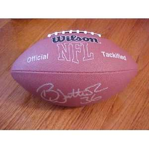 Westbrook Hand Signed Autographed Philadelphia Eagles MVP NFL Football