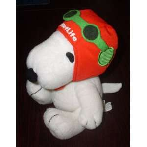 Extremely Rare Peanuts Metlife Flying Ace Pilot Snoopy w