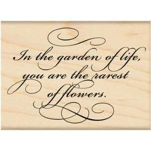 Penny Black Rubber Stamp 2X2.75 Garden Of Life Arts