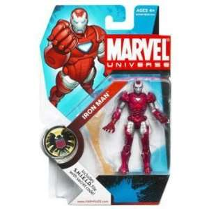 Marvel Universe Figure Iron Man Silver Toys & Games