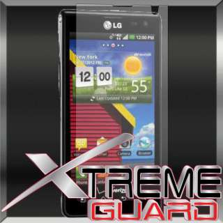 Clear LCD Screen Protector Shield Cover Skin For LG Lucid VS840