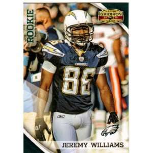 2010 Panini Gridiron Gear #201 Jeremy Williams RC   San