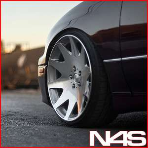 20 LEXUS GS GS300 GS400 GS430 MRR HR3 VIP SILVER CONCAVE STAGGERED