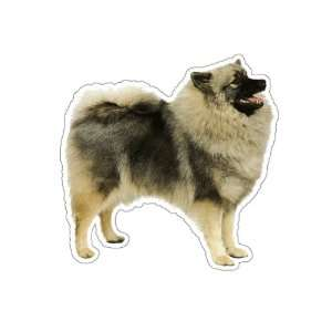 KEESHOND   Dog Decal   sticker dogs car got window