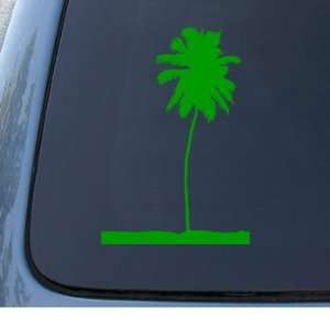 PALM TREE   Hawaii Beach   Vinyl Decal Sticker #1315  Vinyl Color