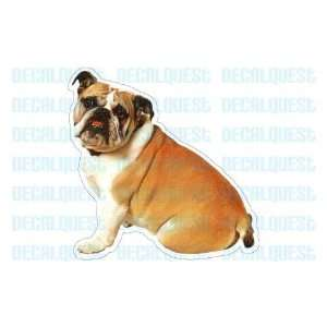 BULLDOG   Dog Decal   sticker bull dogs car got window