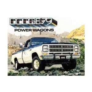 1979 DODGE POWER WAGONS Sales Brochure Literature Book