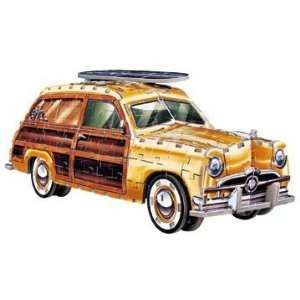 Ford Woody Station Wagon, 350 Piece 3D Jigsaw Puzzle Made