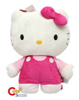 Sanrio Hello Kitty Plush Doll Backpack Bag  PINK 16in