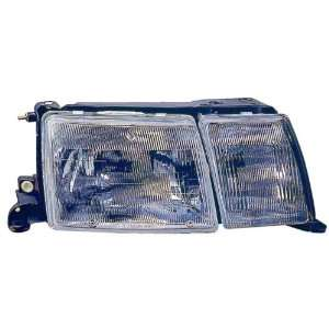 Lexus LS400 Replacement Headlight Assembly (with Fog Light