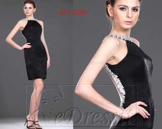 eDressit 2011 Short Black Prom Dress Ball Gown US 4 18