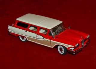 DANBURY MINT DIE CAST REPLICA 124 EDSEL BERMUDA 1958 AS IS/PARTS