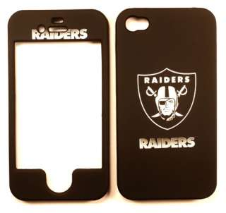 Oakland Raiders Apple iPhone 4 4G 4S Faceplate Case Cover Snap On