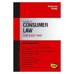 Guide to Consumer Law (9781847160850) David Marsh Books