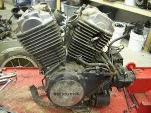 HONDA VT500 SHADOW ENGINE MOTOR COMPLETE WITH 8,320 KNOWN MILES