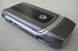 FULL PIECE HOUSING for MOTOROLA W375 ~ Dark Grey