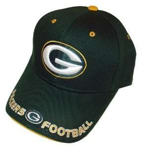 Green Bay Packers Classic Trim Baseball Cap   Adjustable, Officially