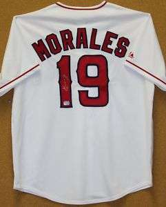 Kendry Morales Autographed Los Angeles Angels Jersey