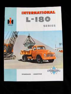 1950 International Harvester L 180 Truck Series Book