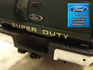 Ford F250 Super Duty Tailgate Letters Inserts Stickers