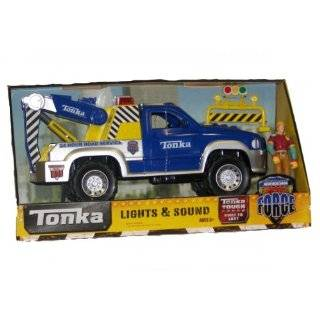 Tonka Mighty Fleet Tow Truck Lights & Sounds Toys & Games