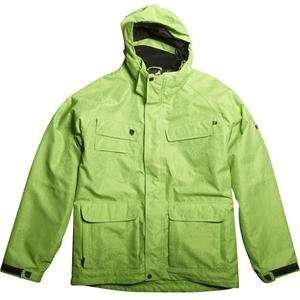 Fox Racing FX2 Jacket   Small/Vivid Green Automotive