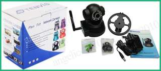 Network Wireless WiFi IP IR Security Camera with 2 way Audio CMOS